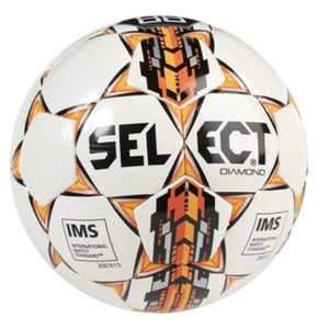 Football ball Select FB Diamond Special black orange, Select