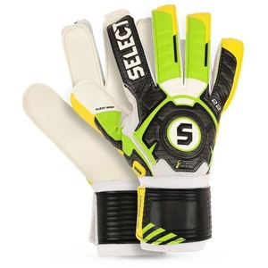 Goalkeepers gloves Select 22 flexi grip green yellow, Select