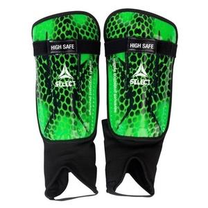 Protectors shins Select Shin guards High Safe green black, Select