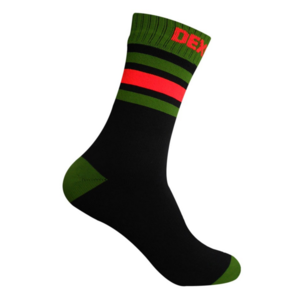 Socks DexShell Ultra Dri Sports Sock Black / Blaze orange, DexShell