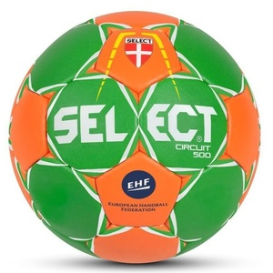 Handball ball Select HB Circuit 450 green orange, Select