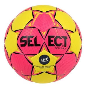 Handball ball Select HB Solera yellow pink, Select