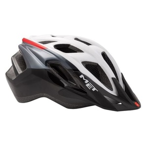 Helmet MET FUNANDGO 2019 white / black / red, Met