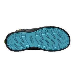 Children boots Keen Hikeport MID Strap WP Y, magnet / green, Keen