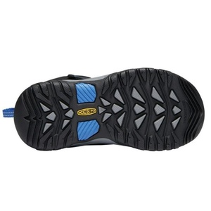 Children boots Keen Levo Winter WP C, black / baleine blue, Keen