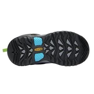Children boots Keen Levo Winter WP C, magnet / blue jewel, Keen