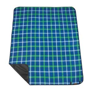 Picnic blanket with strap Spokey PICNIC TARTANA, blue, Spokey