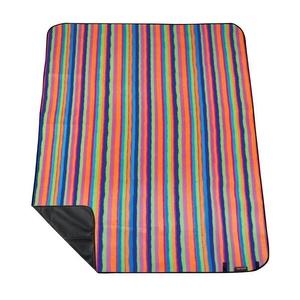 Picnic blanket with strap Spokey PICNIC TARTANA, striped, Spokey