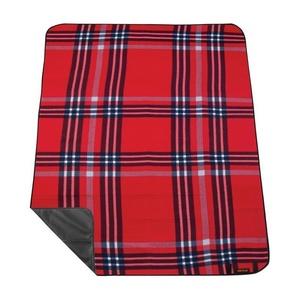 Picnic blanket with strap Spokey PICNIC HIGHLAND, red, Spokey