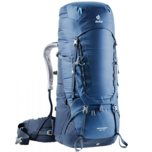 Backpack Deuter Aircontact 65+10 midnight navy, Deuter