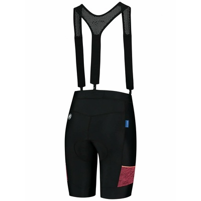 Women cycling shorts Rogelli CHARM 2.0 with gel lining, black-coral 010.291, Rogelli