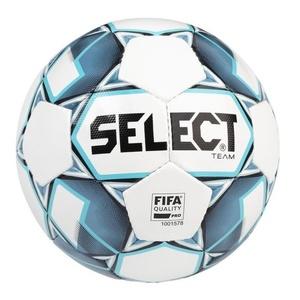 Football ball Select FB Team FIFA white blue size. 5, Select