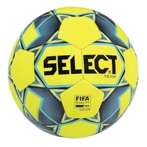 Football ball Select FB Team FIFA yellow blue size. 5, Select