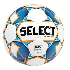 Football ball Select FB Diamond white blue, Select