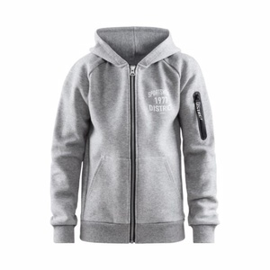 Sweatshirt CRAFT District Hood Zipper 1907215-950000, Craft