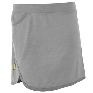Women skirt Sensor Merino Active grey 19100001, Sensor