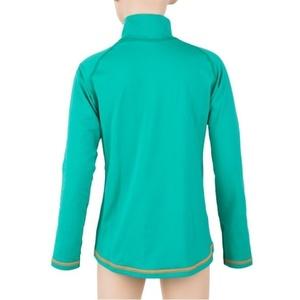 Children shirt Sensor Thermo long sleeve zipper light green / ufo, Sensor