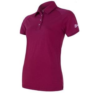 Women shirt Sensor Active polo short sleeve lilla 19100005, Sensor
