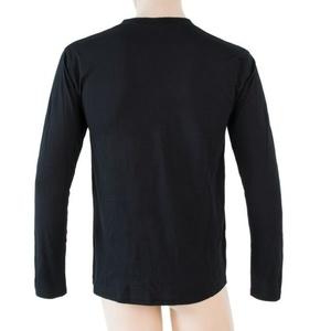 Men shirt Sensor MERINO ACTIVE PT LABEL black 18200016, Sensor