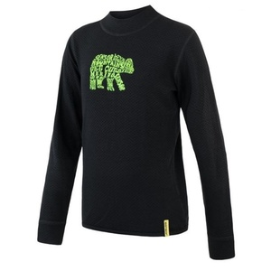 Children shirt Sensor Merino DF Bear black, Sensor