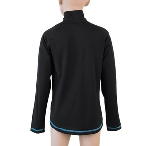 Children shirt Sensor Thermo long sleeve zipper black / ufo, Sensor