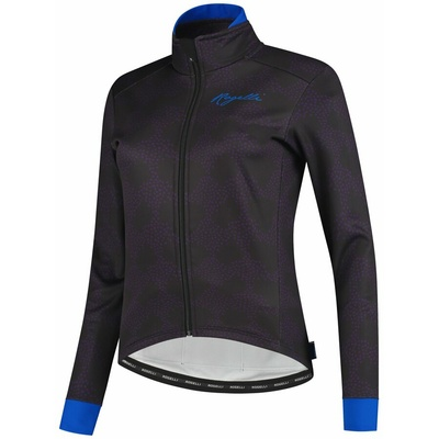 Ultralight women's cycling jacket Rogelli BLOSSOM with fine insulation, purple-blue 010.326