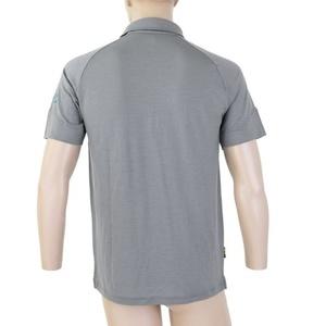 Men polo shirt Sensor Merino Active, grey 19100003, Sensor