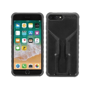 Cover Topeak RIDECASE for iPhone 6 Plus, 6s Plus, 7 Plus, 8 Plus black / gray 2019, Topeak