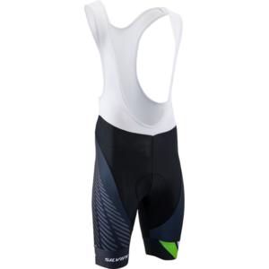 Men cycling pants Silvini Team Top MP1406 black-green, Silvini