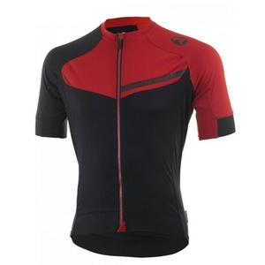 Biking jersey RogelliCONTENTO of smooth material, black and red 001.084., Rogelli