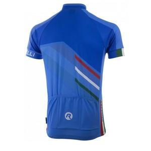 Men bike jersey Rogelli TEAM 2.0 blue 001.970., Rogelli