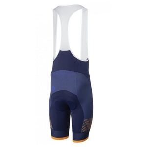Bike shorts Rogelli RITMO with gel lining, blue-orange 002.265., Rogelli