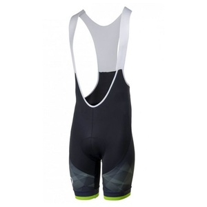 Cycling shorts Rogelli ISPIRATO 2.0 with gel cycling, black-reflective green 002.399., Rogelli