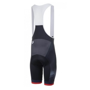 Cycling shorts Rogelli ISPIRATO 2.0 with gel cycling, black and red 002.400., Rogelli