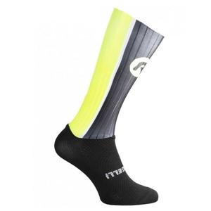 TEAM  Q-skin Socks 007.018 White Black ROGELLI BIKE