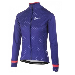 Warm women's bike jersey Rogelli PRIDE with long sleeve, blue-pink 010.181., Rogelli