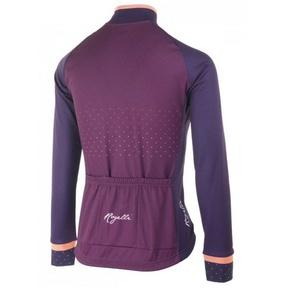 Warm women's bike jersey Rogelli PRIDE with long sleeve, winy 010.182., Rogelli