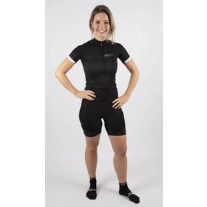 Women cyklokraťasy Rogelli ESSENTIAL with gel lining, black 010.255., Rogelli