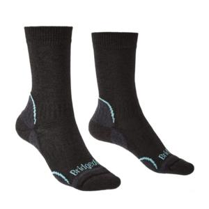 Socks Bridgedale Hike Lightweight Coolmax Performance Boot Women's graphite/mint/168, bridgedale