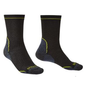 Socks Bridgedale Hike Lightweight Coolmax Performance Boot black/lime/137, bridgedale
