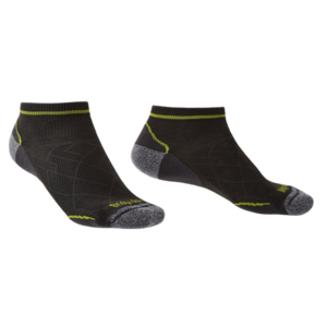 Socks Bridgedale Hike Ultralight T2 Coolmax Performance Low graphite/lime/140, bridgedale