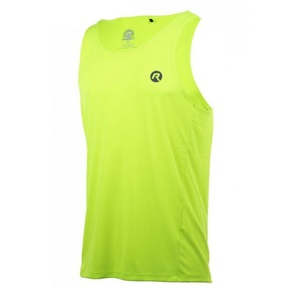 Sports functional top Rogelli BASIC of smooth material, reflection yellow 800.231., Rogelli