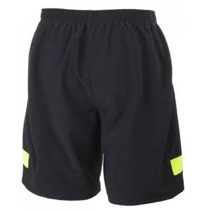 Loose running shorts Rogelli GRAVITY, black-reflective yellow 830.742, Rogelli