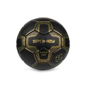 Spokey AMBIT MINI Football ball size. 2 black-gold, Spokey