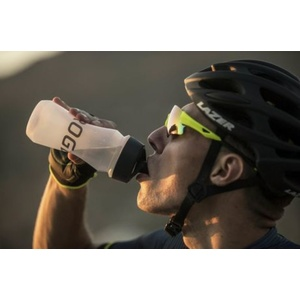 Bicycle bottle Rogelli PROFI BIDON 0,5 litres with membrane closure, transparent 009.911, Rogelli