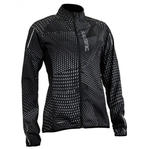 Jacket Salming Ultralite Jacket 3.0 Women Black AOP, Salming