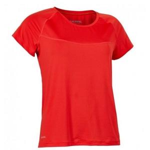Women shirt Salming Laser Tee Women Poppy Red Melange, Salming