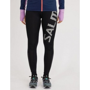 Leggings Salming Logo Tights 2.0 Women Black / Silver Reflective, Salming