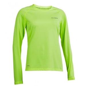 Women shirt Salming Balance LS Tee Women Sharp Lime, Salming