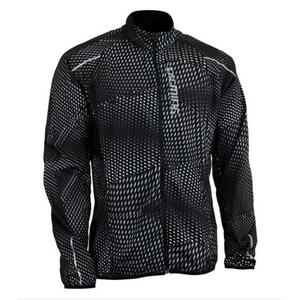 Jacket Salming Ultralite Jacket 3.0 Men Black All Over Print, Salming